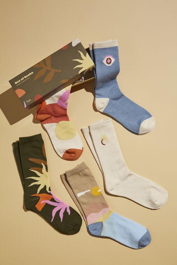 Box Of Socks, LANDSCAPES & SHAPES