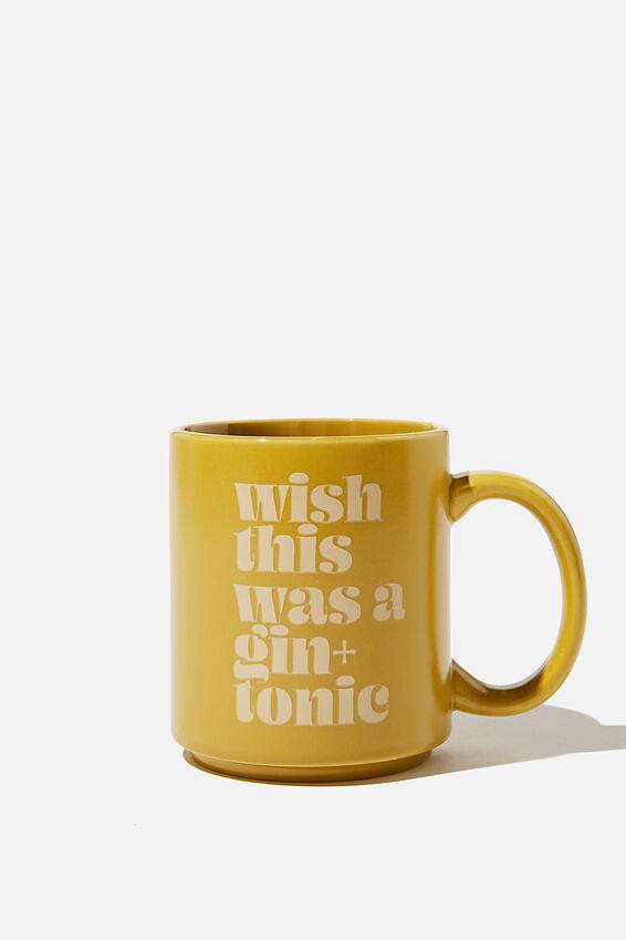 Daily Mug, gin & tonic