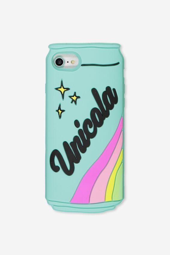 Shaped Silicone Phone Cover Universal 6,7,8, UNICOLA