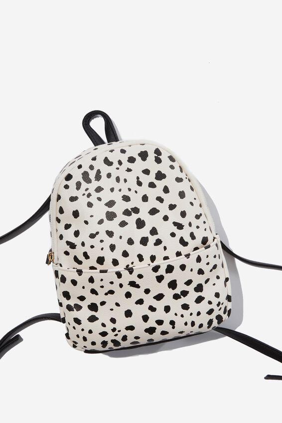 Mini Cairo Backpack, SPOTTY PRINT