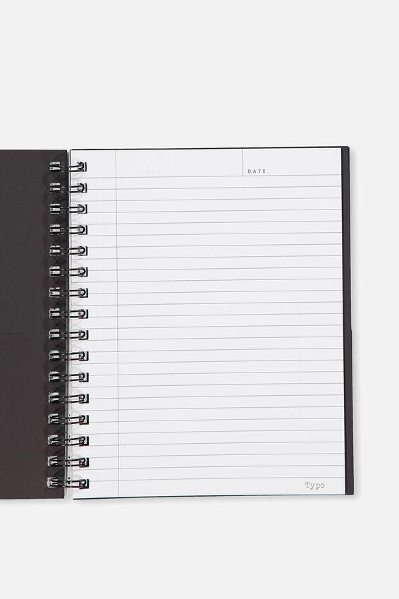 Medium Campus Notebook - 240 Pages, LCN FRIENDS MILKSHAKE