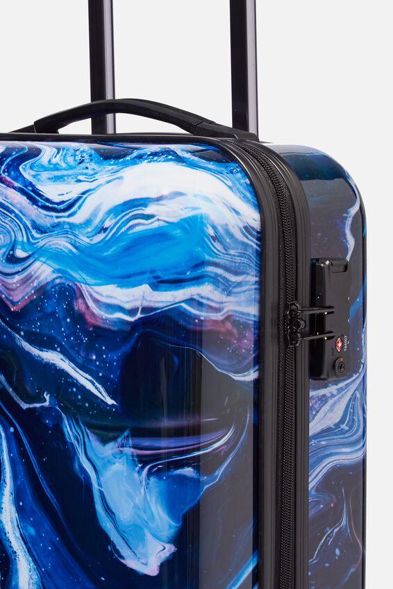 Suitcase Set With Tsa Lock, MOON MARBLE