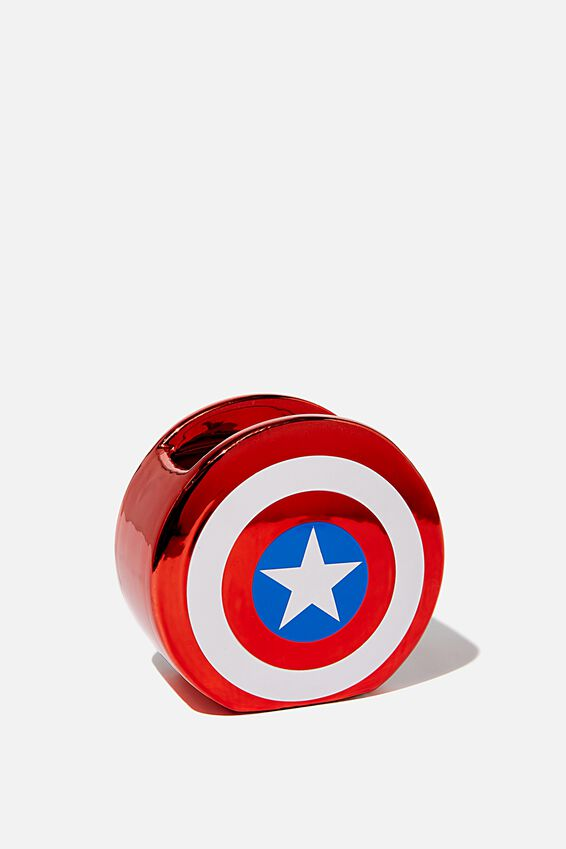 Marvel Pen Holder, LCN MARVEL METALLIC SHIELD
