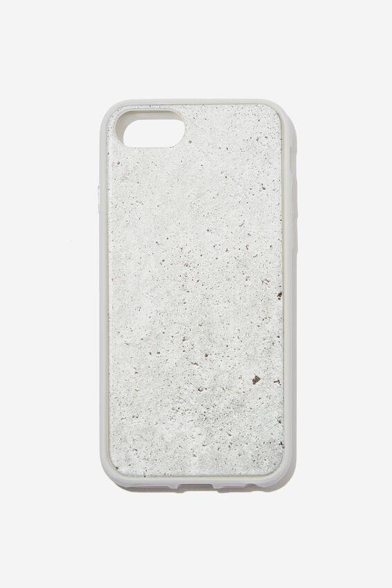 Snap On Protective Phone Case SE, 6, 7, 8, CONCRETE