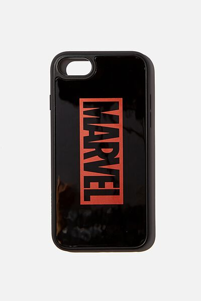 Snap On Protective Phone Case 6, 7, 8, LCN MARVEL LOGO