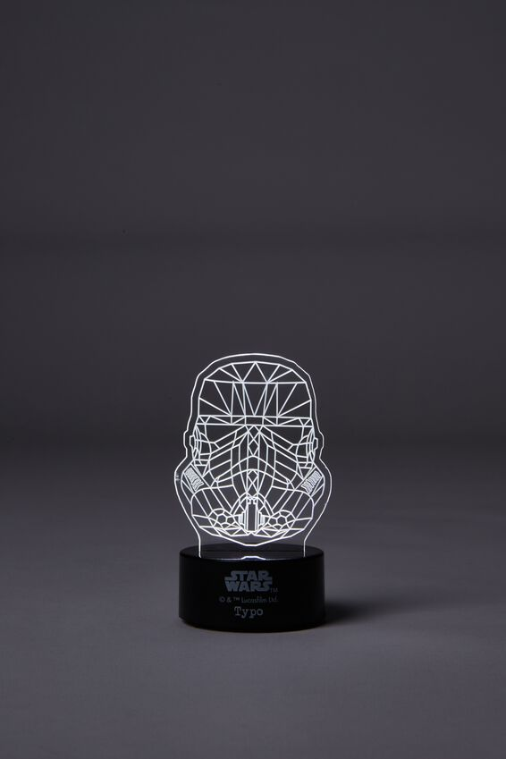 Star Wars Acrylic Light, LCN STORM TROOPER