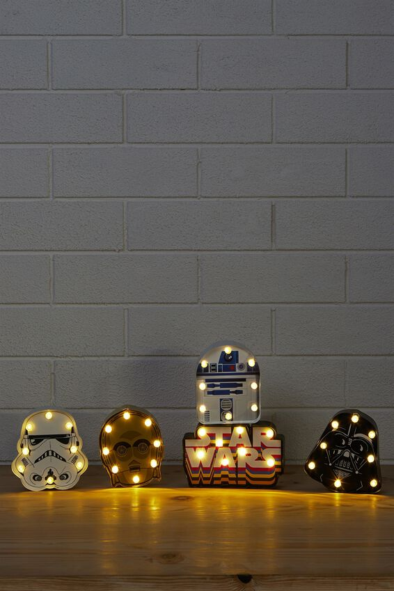 Star Wars Light Gift Set, LCN RETRO STAR WARS MULTI
