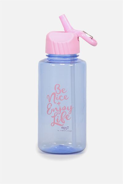 Suck It Up Drink Bottle, BE NICE & ENJOY LIFE