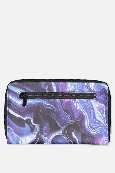 Rfid Odyssey Travel Compendium Wallet, MOON MARBLE