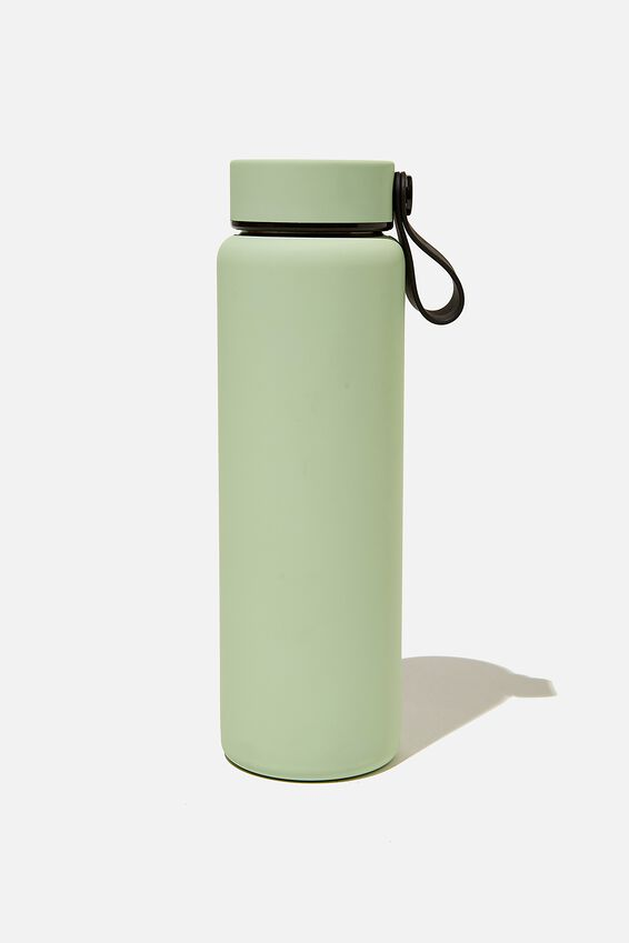 On The Move Metal Drink Bottle 500Ml, ALLY GREEN