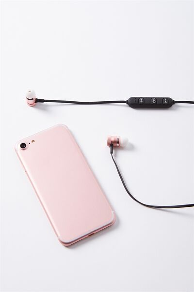 Shift Wireless Earphone, ROSE GOLD