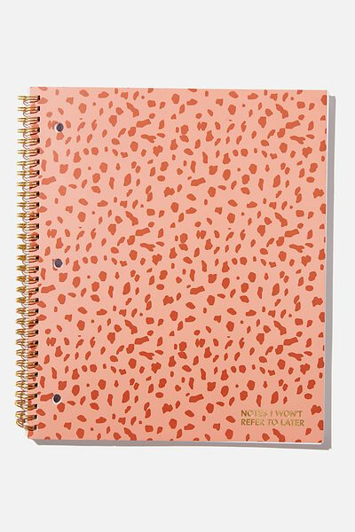 College Ruled Campus Notebook, REFER TO LATER