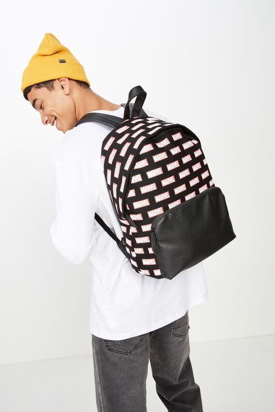 Austin Backpack, LCN MAR MARVEL LOGO