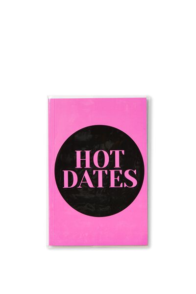 17 18 A5 Pvc Diary, HOT DATES PINK