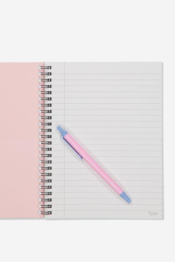 A5 Pusheen Spinout Notebook Recycled, LCN PUSHEE PUSHEEN EMOTIONS