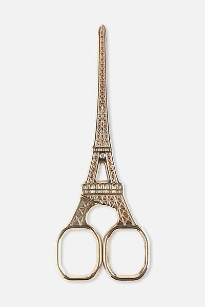 Eiffel Scissors, GOLD