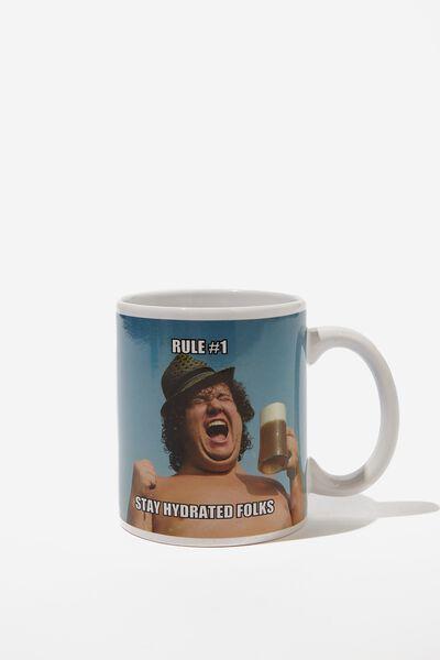 Anytime Mug, STAY HYDRATED!