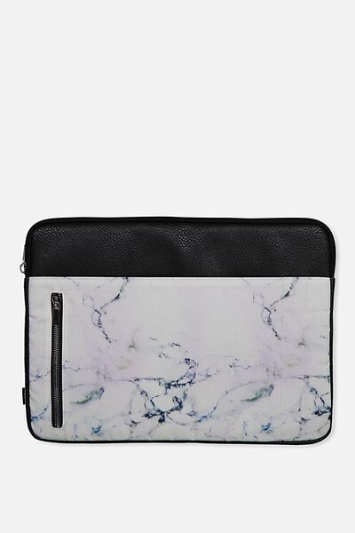 """Take Charge Laptop Cover 15"""", LUSH MARBLE"""