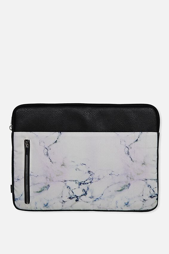 "Take Charge Laptop Cover 15"", LUSH MARBLE"