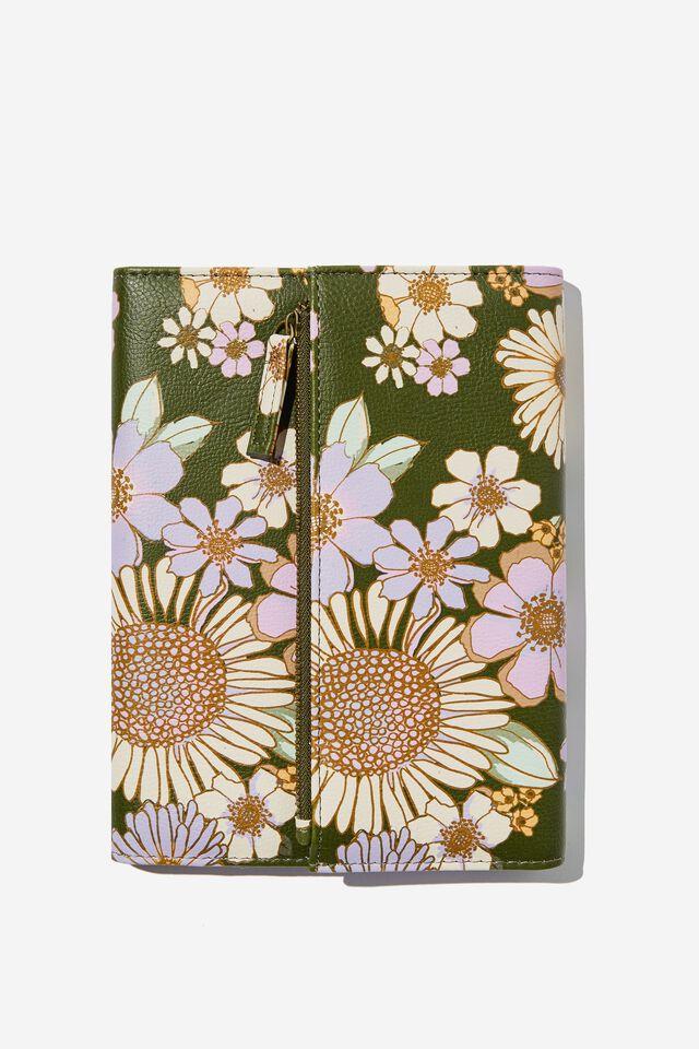 2022 Zip Pocket Diary, SUNNIE FLORAL
