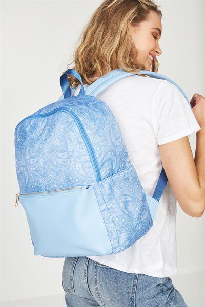 Everyday Backpack, BLUE MANDALA