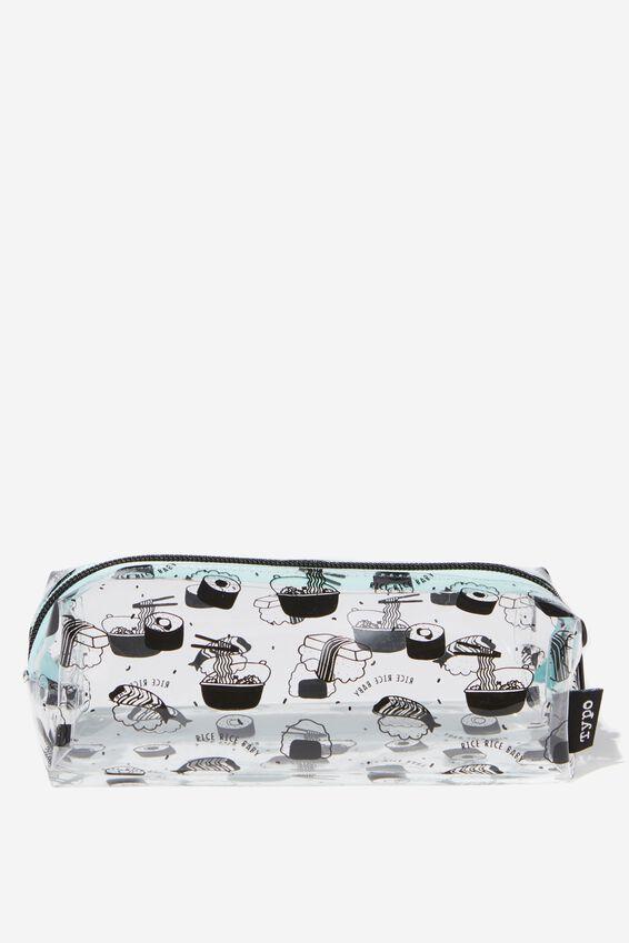 Bailey Pencil Case, RAMEN SUSHI