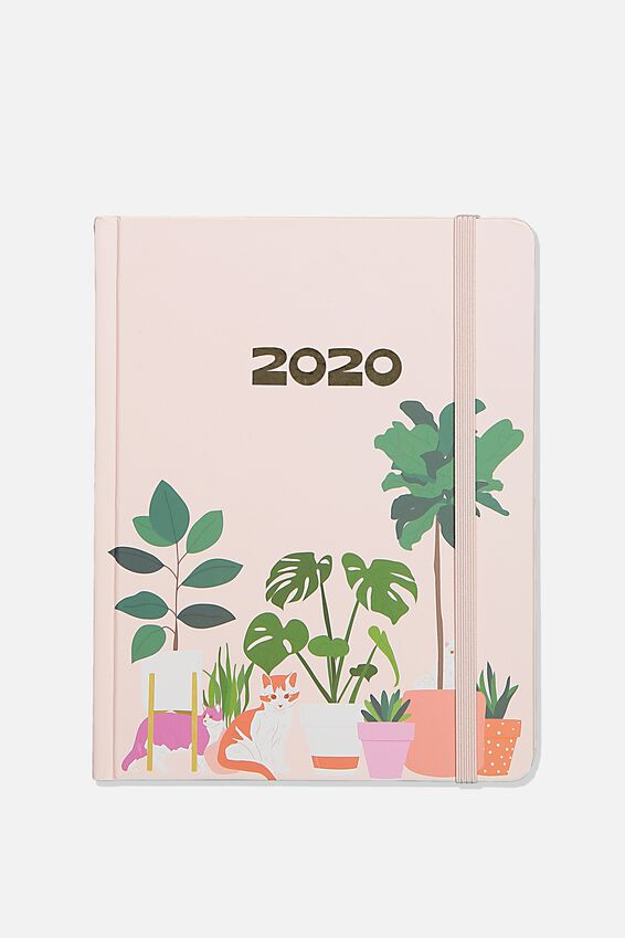 2020 Essential Diary, PETS & PLANTS