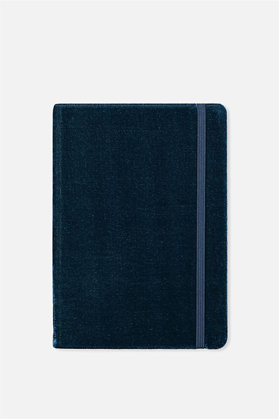 Premium A5 Buffalo Journal, GREEN VELVET