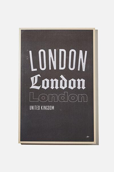 40 X 60 Canvas Art, LONDON
