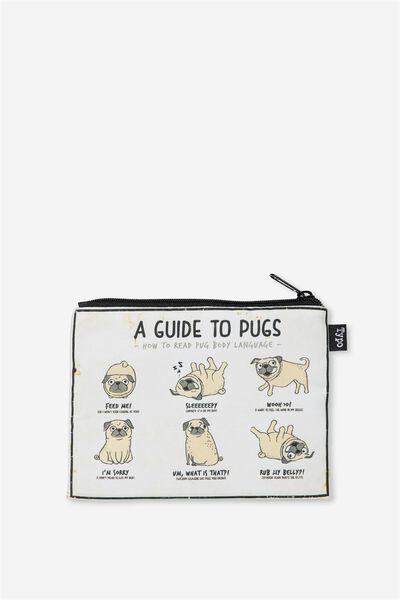 Pencil Case, GUIDE TO PUGS