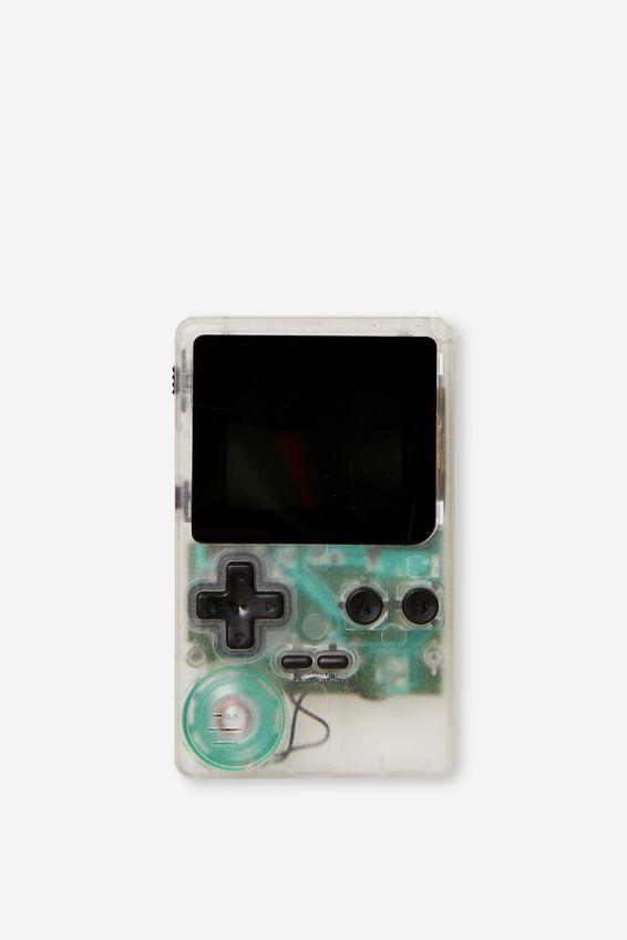 Mini Retro Gamer, TRANSPARENT CLEAR