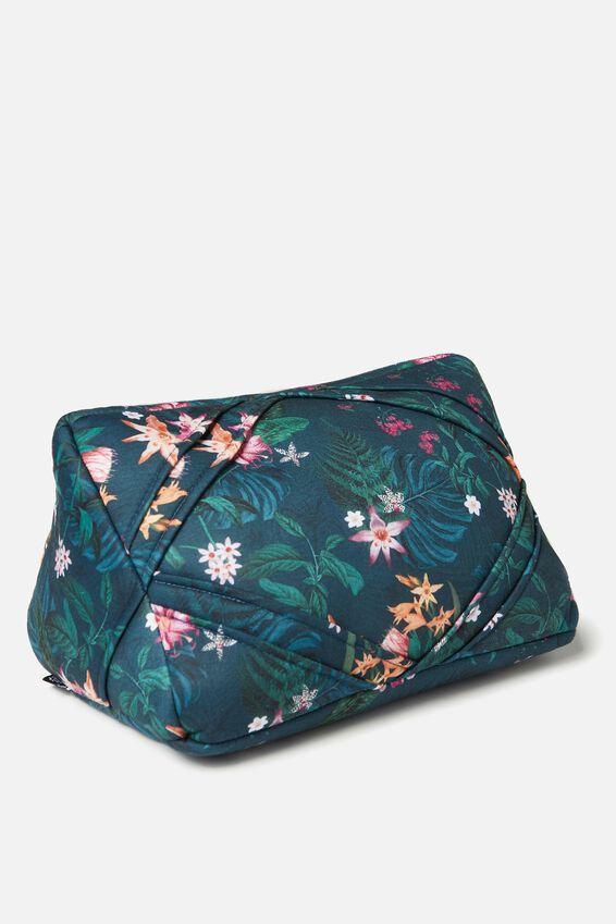 Tablet Cushion, JUNGLE FLORAL