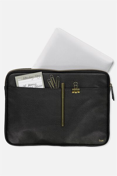 "Core Laptop Cover 13"", BLACK"