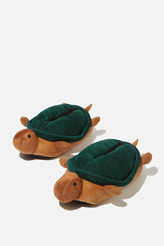 Novelty Slippers, TURTLE