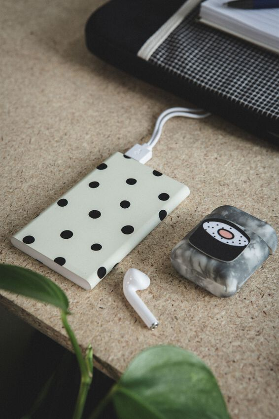 Printed Charge It Charger, DOTTY SPOT