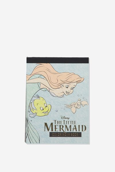 Post Card Colouring Book, LCN DIS THE LITTLE MERMAID
