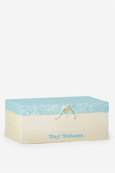 Keep All Storage Box, BLUE LACE