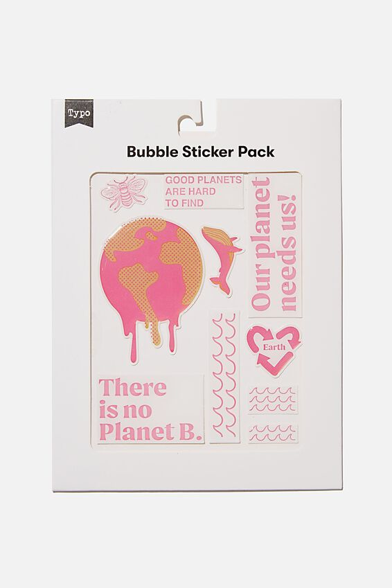 Bubble Sticker Pack, GOOD PLANETS ARE HARD TO FIND