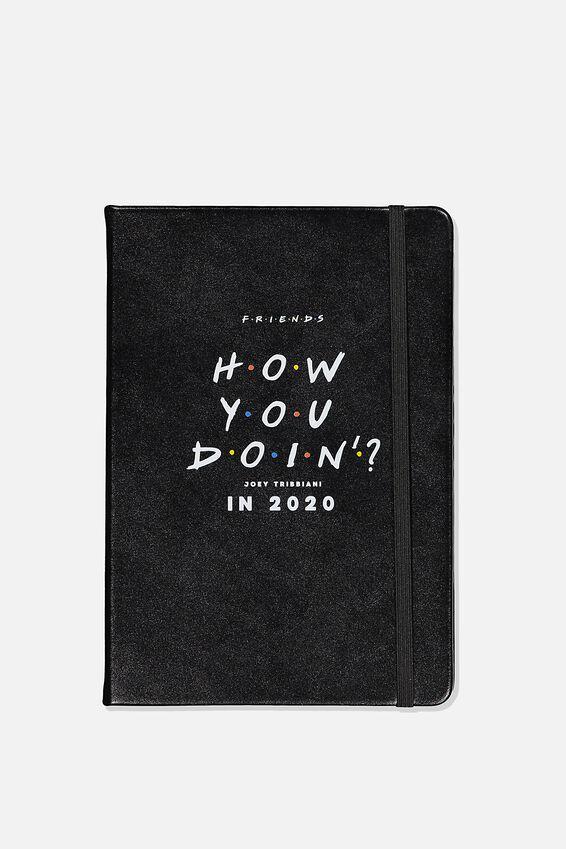 2020 A5 Daily Buffalo Diary, LCN WB FRI FRIENDS