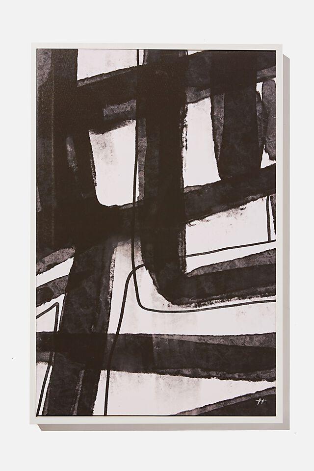 40 X 60 Canvas Art, MONO ABSTRACT