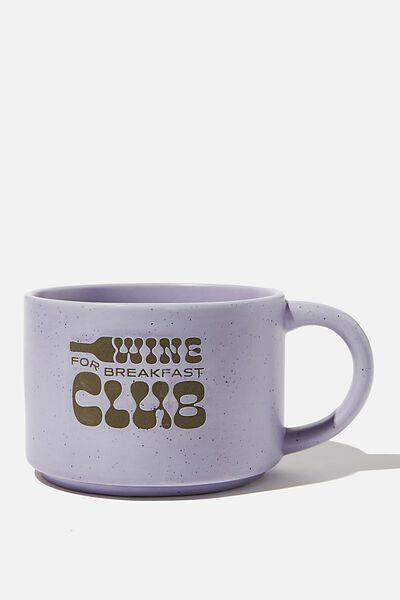 Big Hit Mug, WINE CLUB