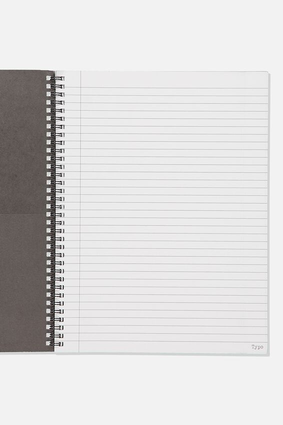 A4 Spinout Notebook Recycled, WHATEVER I WANT