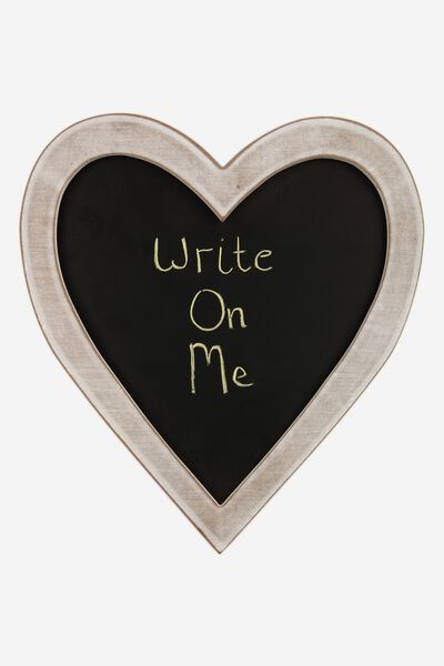 Heart Blackboard, VINTAGE