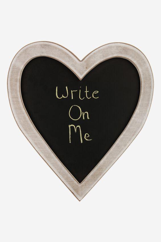 Heart Blackboard, VINTAGE