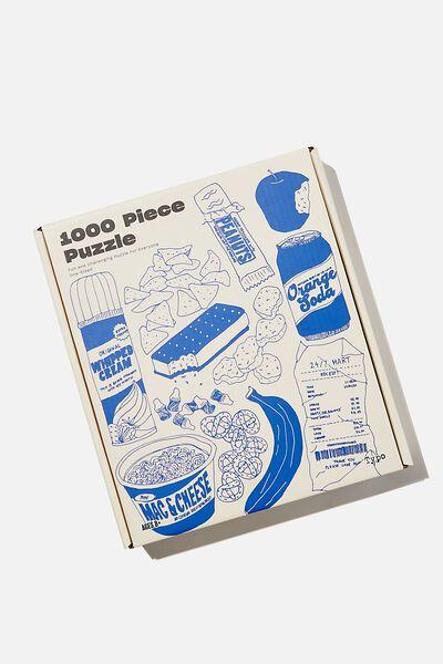 1000 Piece Puzzle, FOOD ILLUSTRATION