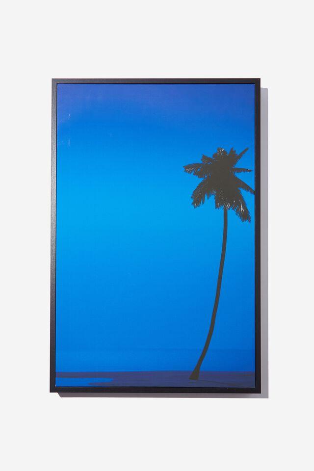 40 X 60 Canvas Art, BLUE PALMS