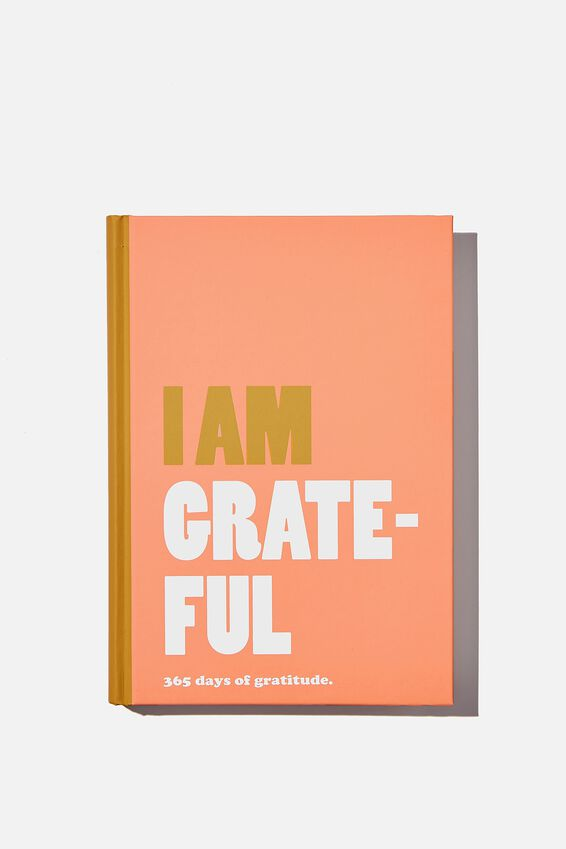 A5 Gratitude Activity Journal, I AM GRATEFUL PINK