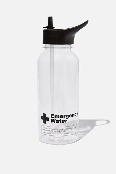 Drink It Up Bottle, EMERGENCY WATER