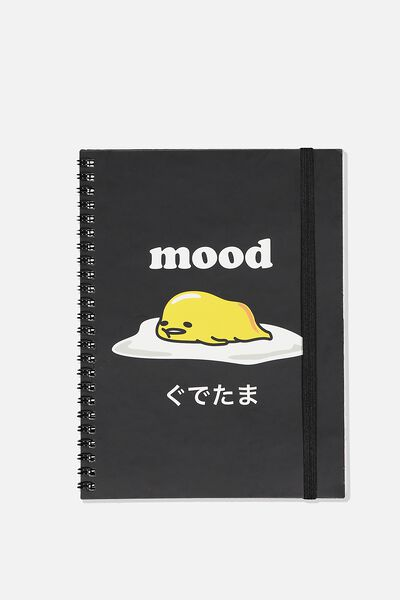 A5 Spinout Notebook Recycled, LCN SAN GU MOOD