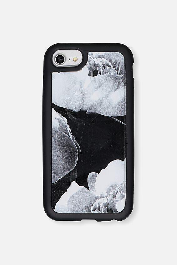 Superior Phone Case Universal 6,7,8, MONOCHROME FLORAL